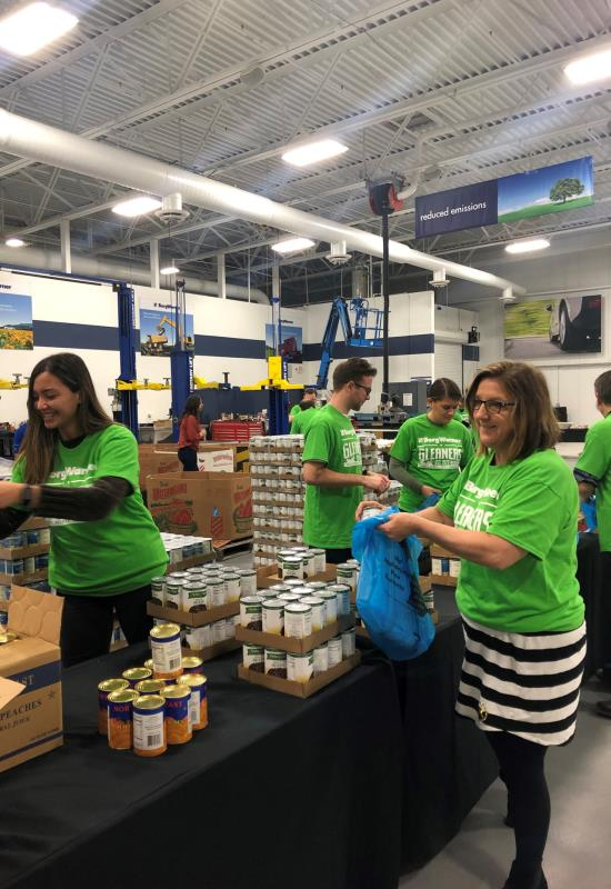 "Gleaners ""Backpack Meal"" Packaging Event"