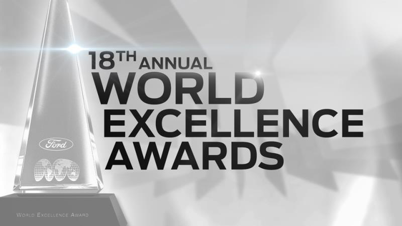 2015 World Excellence Awards from Ford