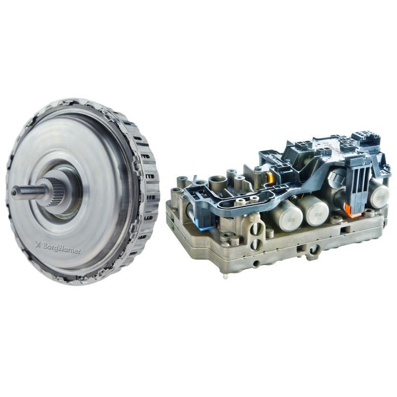 BorgWarner's Customized Dual-clutch and Control Modules