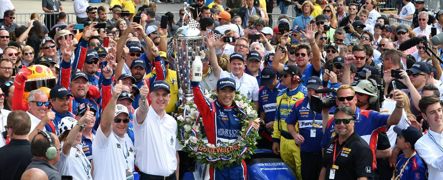 03 | 2017 Indianapolis 500 Winner - Takuma Sato