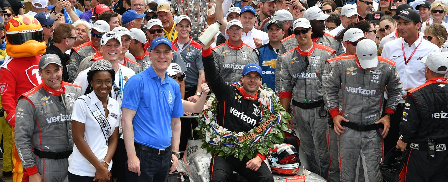 2018 Indianapolis 500 Winner - Will Power