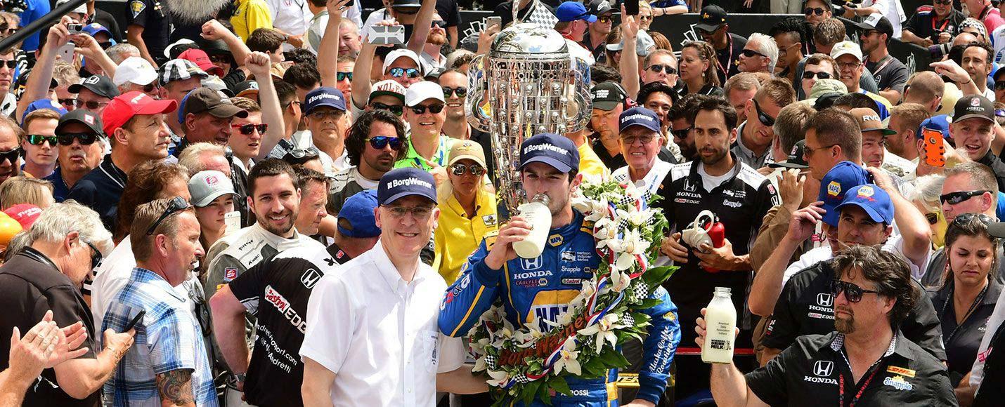 04 | 2016 Indianapolis 500 Winner - Alexander Rossi